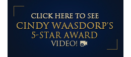 Cindy Waasdorp's Five Star Award